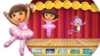 Dora's Ballet Adventure | Dora the Explorer Game for kids