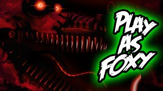 PLAY as FOXY! || FNAF Fazbear's Simulator || Five Nights at Freddy's Simulator
