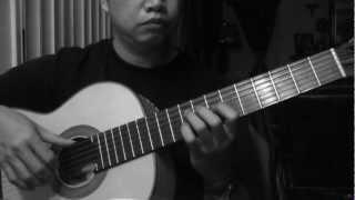 Maalaala Mo Kaya - C. De Guzman (arr. Jose Valdez) Solo Classical Guitar