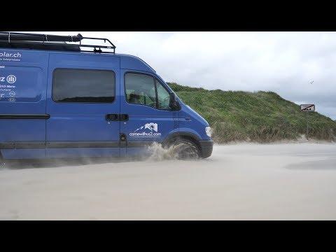 Festgefahren... Unser Camper steckt im Sand fest・V2og #41