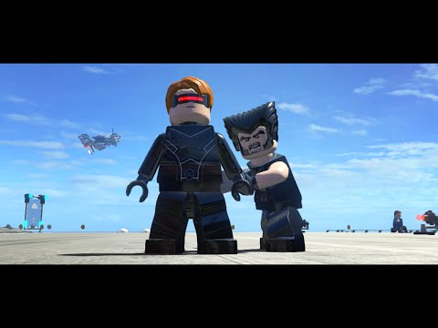 LEGO Marvel Superheroes - X-Men Movie (MOD)