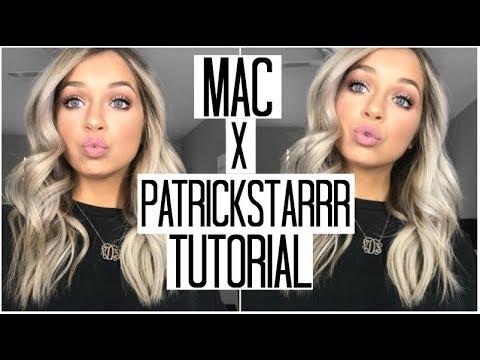 Simple, Glowy, Glam Makeup Tutorial | MAC x PatrickStarrr Collab