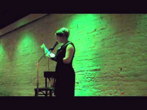 Emerald reads at the Philadelphia Erotic Literary Salon 12/21/10, Part 1