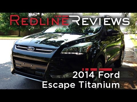 2014 Ford Escape Titanium Review. Walkaround. Exhaust & Test Drive