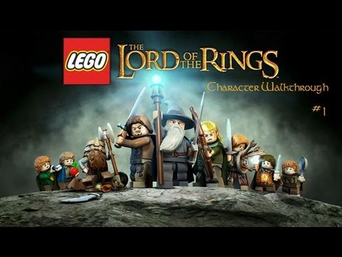 LEGO The Lord of the Rings - Character Walkthrough - Episode 1 - The Witch King and Haldir