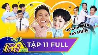 Chạy Đi Chờ Chi| Tập 11 FULL| Trấn Thành xông trận, Song Thỏ tương trợ hết mình|Running Man Việt Nam