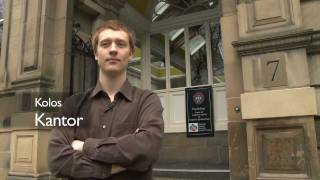 Psychology at Edinburgh - Student Interview: Kolos Kantor