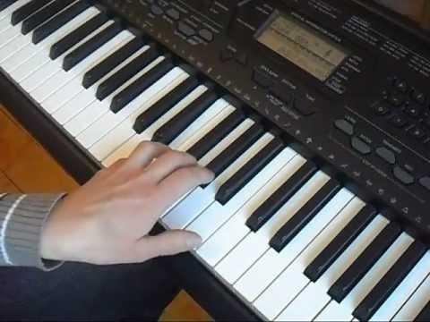 Уроки игры на синтезаторе - видео