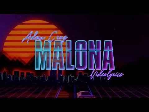 Malona - Adán Cruz (Lyrics Video)