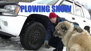 DIY 3pt Hitch & Plowing Snow !  Project StormTrooper