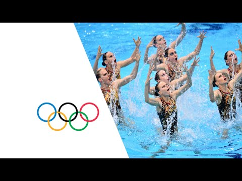 Synchronised Swimming Teams Final - London 2012 Olympic Games Highlights