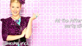 Roshon Fegan & Caroline Sunshine - After Party (Lyrics Video) HD