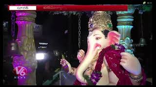 Grand Celebrations Of Ganesh Festival In Surat | Gujarat  Telugu News