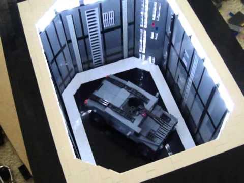 Wip Death Star Interiors Moc Youtube
