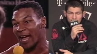 Khabib Talks Legends - Muhammed Ali - Tyson - Fedor
