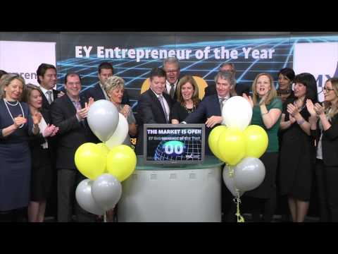 EY Entrepreneur of the Year Awards opens Toronto Stock Exchange, March 17, 2015