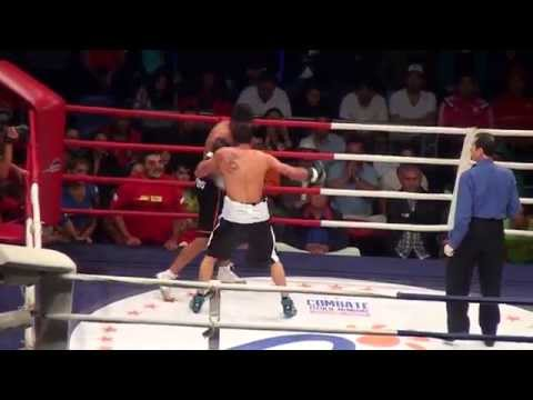 José Silva (Chile) Vs Diego Viveros (Argentina) - Boxeo profesional - 12/12/2014