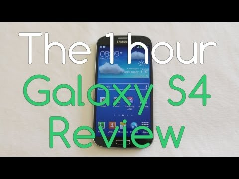 Galaxy S4 Review 1 hour look at Samsung's flagship - Androidizen
