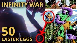Infinity War: 50 CHI TIẾT CÓ THỂ BẠN BỎ QUA