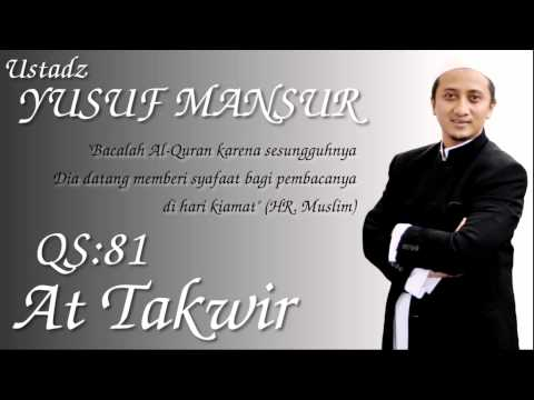 Qs.81. At Takwir (ust. Yusuf Mansur) video