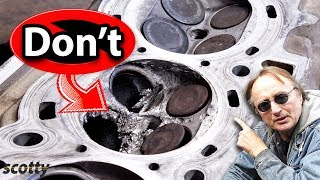 Never Carbon Clean Your Car's Engine