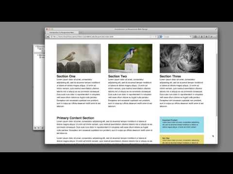 Responsive Web Design Tutorial and Explanation