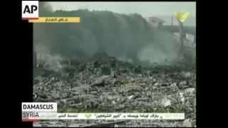 Tensions As Israel Targets Syria in Airstrikes  5/6/13