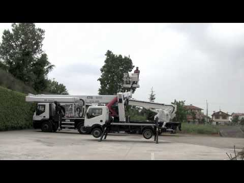 Telescopic truck-mounted platform B-LIFT