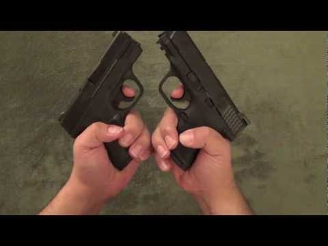 Smith & Wesson M&P Shield vs M&P Compact
