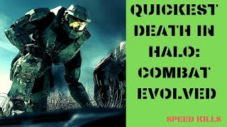 Quickest Death in Halo: Combat Evolved - SPEED KILLS