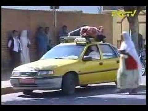 Eritrea Comedy - Hidden Camera (Man over a Taxi)