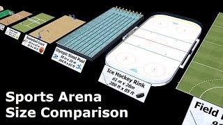 Sports Arena Size Comparison