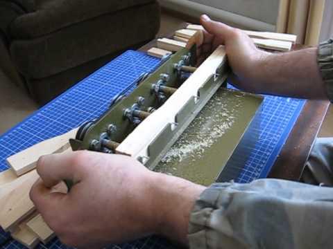 Дырокол для рамок пчелиных своими руками видео