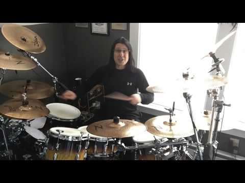 Mike Mangini's 3 Layer Polyrhythm Drum Practice Pattern