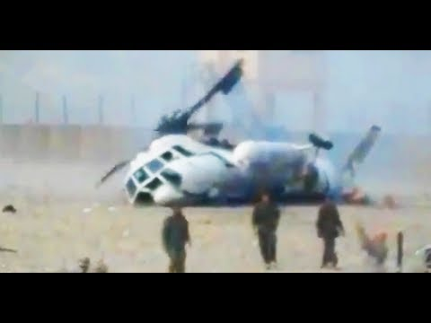 HELICOPTER CRASH RESCUE IN AFGHANISTAN