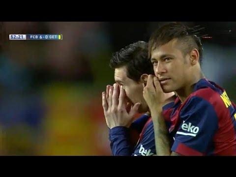Barcelona vs Getafe 6-0 All Goals & Highlights 28.04.2015
