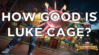 How Good is Luke Cage? Gameplay and Review - Marvel Contest of Champions