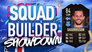 THE BIGGEST DISCARD OF FIFA 19 SQUAD BUILDER SHOWDOWN!!! INFORM GYLFI SIGURDSSON!!!