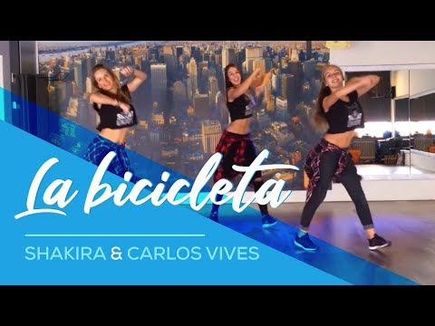La Bicicleta - Shakira & Carlos Vives - Easy Fitness Dance Choreography
