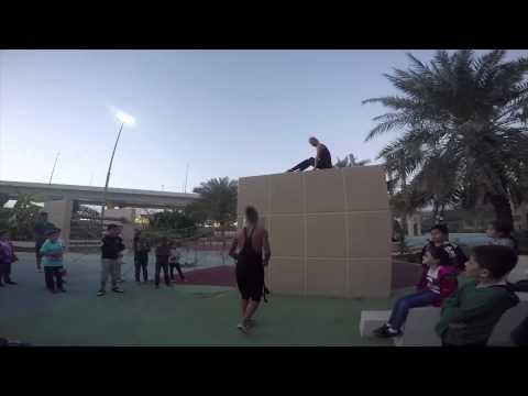 Parkour Dubai: Entourage