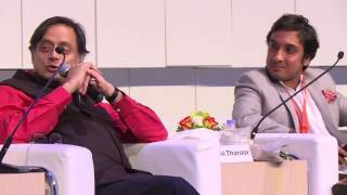 Shashi Tharoor & Kanishk Tharoor @ Sharjah International Book Fair 2016 - Swimmer Among the Stars