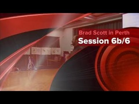 Wildbranch Ministry Restoration Down Under Tour - Perth Session 7 of 7 - Brad Scott