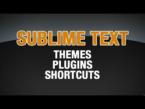 Sublime Text Favorite Packages and Workflow