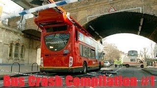 Bus Crash Compilation #1 February 2014
