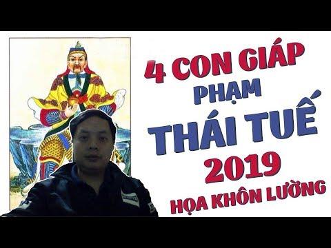 Cảnh Báo 4 Con Giáp Phạm Thái Tuế 2019 và Cách Hóa Giải Vận Hung, Thoát Khỏi Xui Xẻo