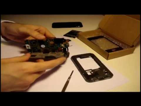 Samsung Galaxy Ace (GT-S5830) - touchscreen replacement