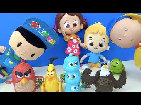 Niloyanın sepetinde hangi Angry Birds oyuncakları var Pepee Niloya Mete tospik Burger King challenge