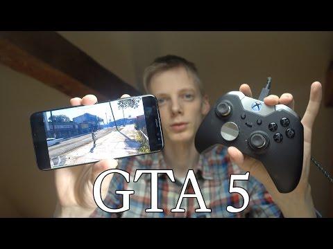 GTA 5 Samsung Galaxy S8 Moonlight Gameplay Review!