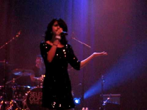 Crush Selena Gomez House Of Blues Concert Dallas, Texas 11 28 09 video