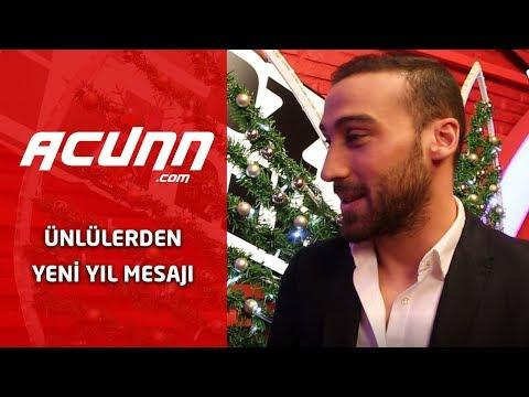 Ünlü isimlerden Acunn.com'a özel yeni yıl mesajları